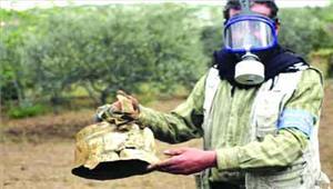 सीरिया में रासायनिक हमला 58 की मौत