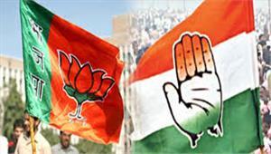 एग्जिट पोल  मणिपुर में कांग्रेस-भाजपा में कड़ा मुकाबला