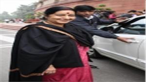 सुषमा ने की पाकिस्तान में संकटग्रस्त भारतीय महिला की मदद