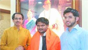 शिवसेना ने हार्दिक को बनाया गुजरात का मुख्यमंत्री उम्मीदवार
