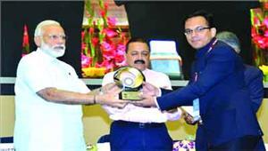 दंतेवाड़ा कलेक्टर को लोक प्रशासन के क्षेत्र में प्रधानमंत्री पुरस्कार