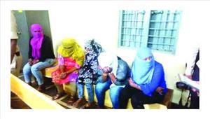 अवंति विहार से सेक्स रैकेट का भांडाफोड़ पांच महिलाएं हिरासत में