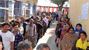 पांचवें चरण में घटा मतदाताओं का रूझान 574 फीसदी वोट पडे