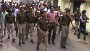 लखीमपुर में भाजपा नेता सहित 6 गिरफ्तार कर्फ्यू जारी
