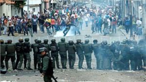 वेनेजुएलासरकार विरोधी प्रदर्शनोंमें2की मौत 400 से अधिक गिरफ्तार