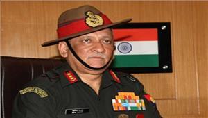 कुपवाड़ा पहुंचे सेना प्रमुख सुरक्षा बंदोबस्त का जायजा लिया