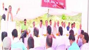 गृहमंत्री ने किया अस्पताल परिसर में धर्मशाला का भूमिपूजन