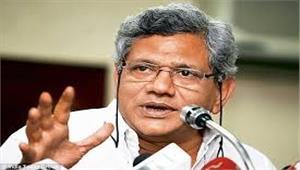 योगी को मुख्यमंत्री बना भाजपा ने हिंदू राष्ट्र का संदेश दे दिया  येचुरी