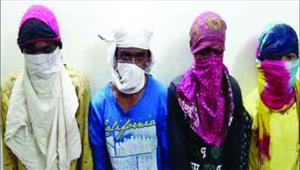 डकैती की योजना बनाते दो नाबालिग सहित 6 गिरफ्तार