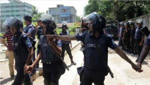 बांग्लादेश में8आतंकवादियों नेछापे के डर सेखुद को उड़ाया