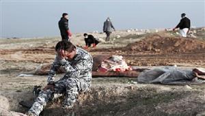 अफगानिस्तान  आईएस की बर्बरता को दर्शाती है सामूहिक कब्र