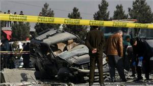 अफगानिस्तान बैंक के बाहरबम विस्फोट में 20 लोगों की मौत