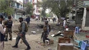 अफगानिस्तान  काबुल में बैंक के पास हमला 6 की मौत और 9 घायल