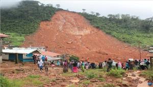 सिएरा लियोन भूस्खलन से 400 लोगों की मौत