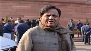 अहमद पटेल नेभाजपा पर लगायासाजिश रचने का आरोप