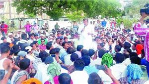 एंबुलेंसकर्मचारियों की हड़तालनौवें दिन भी जारी