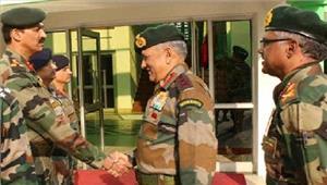 सेना प्रमुखबिपिन रावत नेकियानियंत्रण रेखा का दौरा