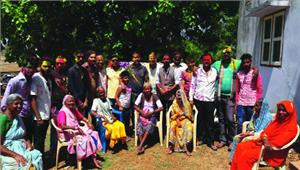 हिन्दू संगठन द्वारा वृद्धा आश्रम में होली मिलन एवं आशीर्वाद समारोह का आयोजन