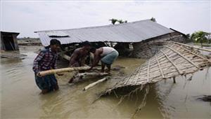 बाढ़ के कारणकाजीरंगा नेशनल पार्क के225पशुओं की मौत