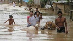 असम में बाढ़ से मरने वालों की संख्या हुई 59