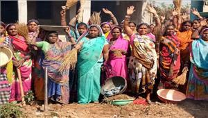 बहेराबुड़ा के ग्रामीणों ने दिया स्वच्छता का संदेश