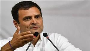 राहुल गांधी 1दिवसीय दौरे पर लखनऊ पहुंचे
