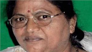 भाजपाके पूर्व अध्यक्ष बंगारू लक्ष्मण की पत्नी कानिधन