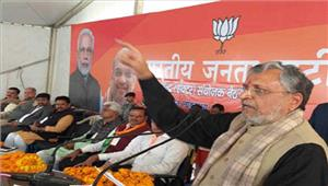 बीजेपीभ्रष्टाचार के खिलाफ नीतीश केसाथ है सुशील मोदी