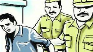 सहारनपुर में इनामी बदमाशगिरफ्तार