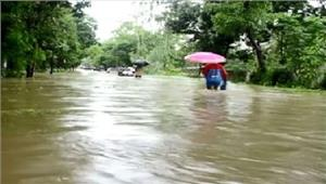 बांग्लादेश मेंभीषण बाढ़ के चलते170 लोगों की मौत