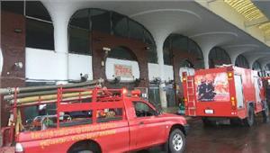 बांग्लादेश शाहजलाल अंतर्राष्ट्रीय हवाईअड्डे पर लगी आग