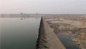 बरियारपुर बांध के 40 गेट टूटने सेबाढ़ की आशंका
