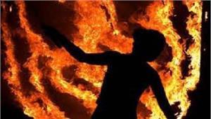 बेगूसरायचालक ने आग लगाकर कीआत्महत्या