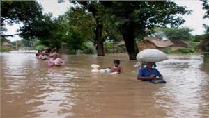 बंगाल  बाढ़ में मृतकों की संख्या 31 हुई स्थिति में सुधार