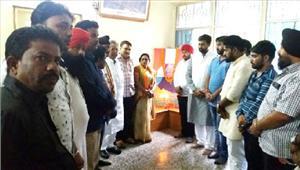 भाजपा ने मनाई अब्दुल कलाम की पुण्यतिथि
