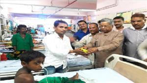 भाजपा जिलाध्यक्ष का मनाया गया जन्मदिवस