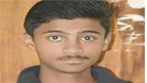 सडक़ दुर्घटना में स्कूल के छात्र की मौत