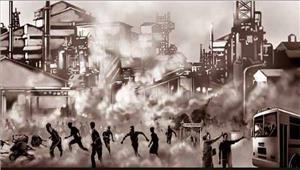 भोपाल गैस हादसे की 33वीं बरसी पर विरोध प्रदर्शन