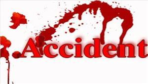 सड़क दुर्घटना में 2लोगों की मौत