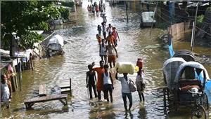 बिहार  बाढ़ का कहर 19 जिलों मेंजारी अब तक 440 मरे