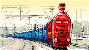 रेल से बिहार के लिए हो रही है शराब की तस्करी