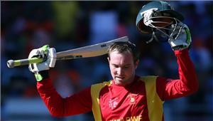 ब्रेंडन टेलर के शानदार शतक से जिम्बाब्वे ने अफगानिस्तान को 154 रनों से हराया