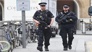 ब्रिटेन में घटाया गया आतंकवाद से खतरे का स्तर