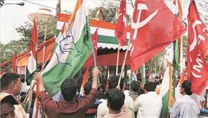 त्रिपुरा में माकपा और भाजपा कार्यकर्ताओं के बीच हिंसक झड़प