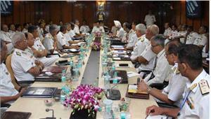 नौसैनिक कमांडरों का 4दिवसीय सम्मलेन  24 अक्टूबर से शुरू