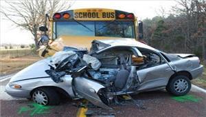 कार और बस की टक्कर मेंचार लोगों की मौत