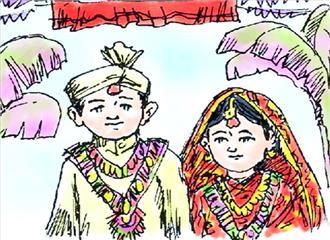 बाल विवाह एक सामाजिक बुराई