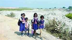 जलाशय में बालको भर रही राख पीएम से शिकायत