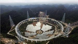 विश्व के सबसे बड़े रेडियो टेलीस्कोप पर चीन में डाक टिकट जारी