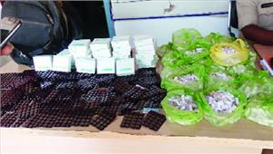 एक लाख की नशीली दवा के साथ आरोपी गिरफ्तार